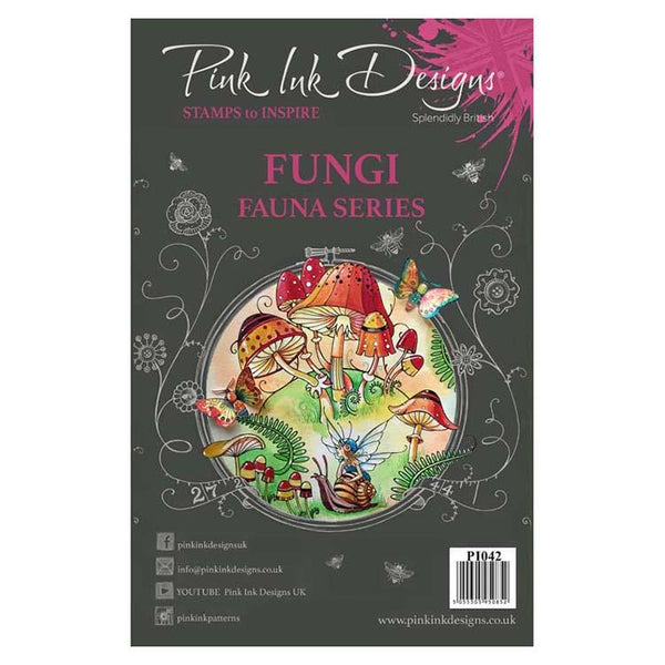 Pink Ink Designs - Stamps - Fungi - Lavinia World