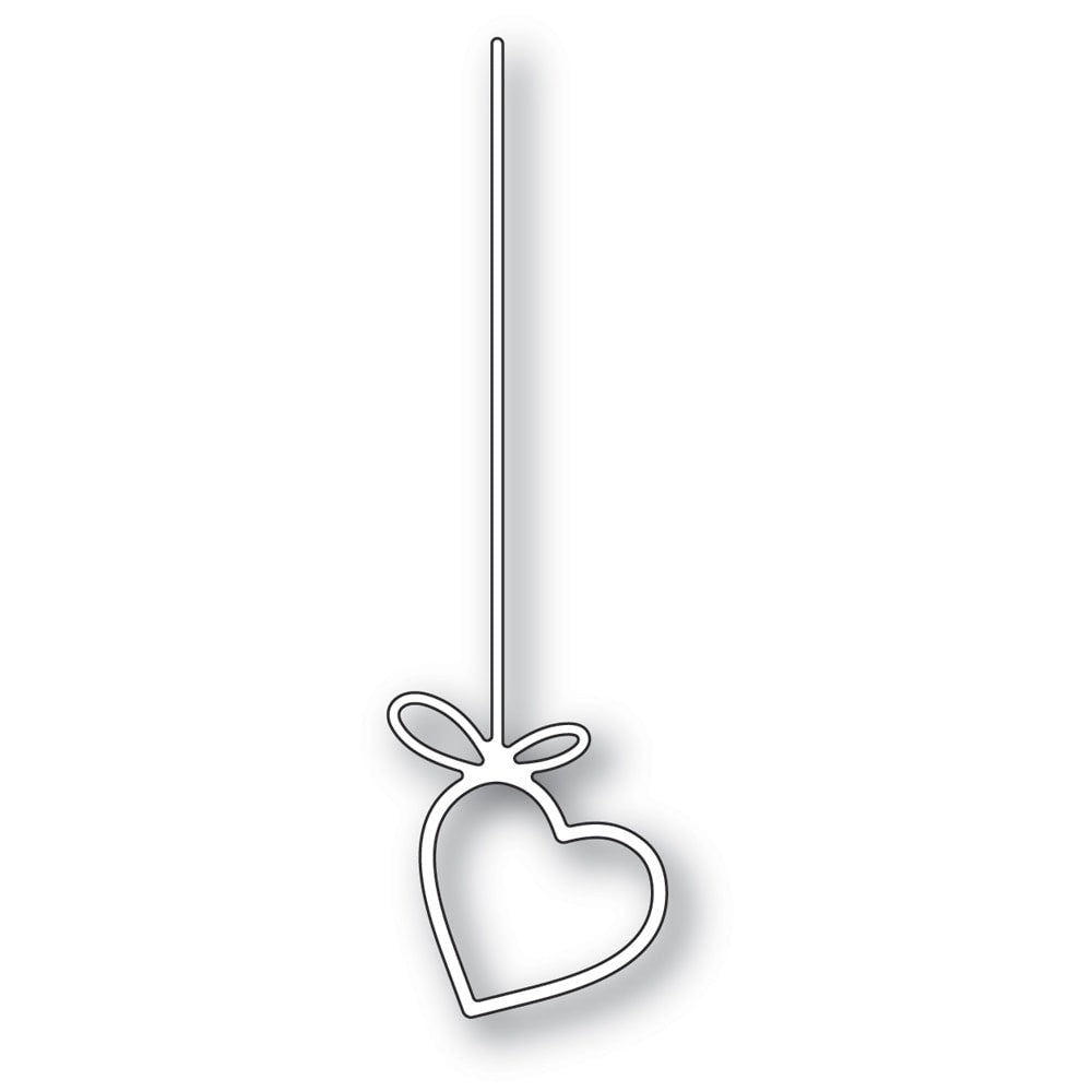 Poppystamps - Dies - Hanging Heart - Lavinia World