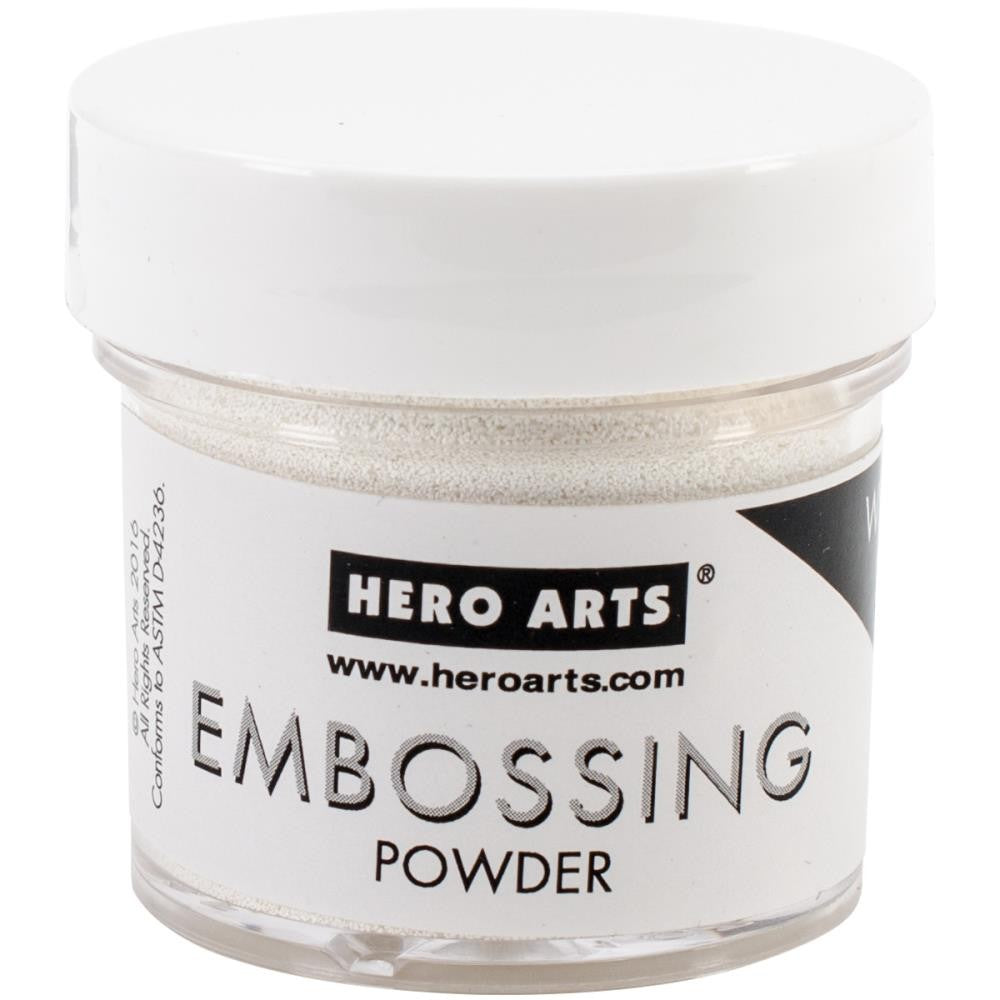 Hero Arts - Embossing Powder - White Puff - Lavinia World