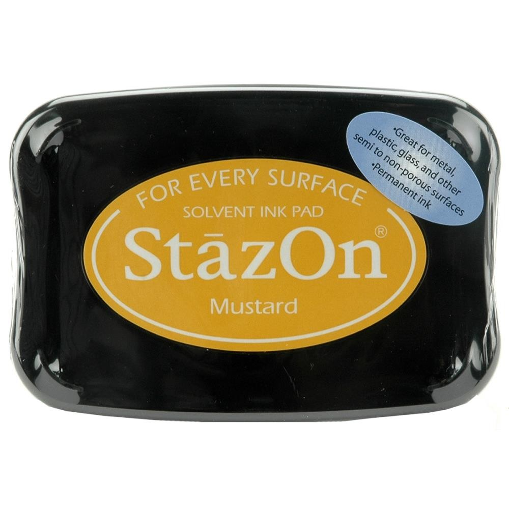 Staz-On - Solvent Ink - Mustard - Lavinia World
