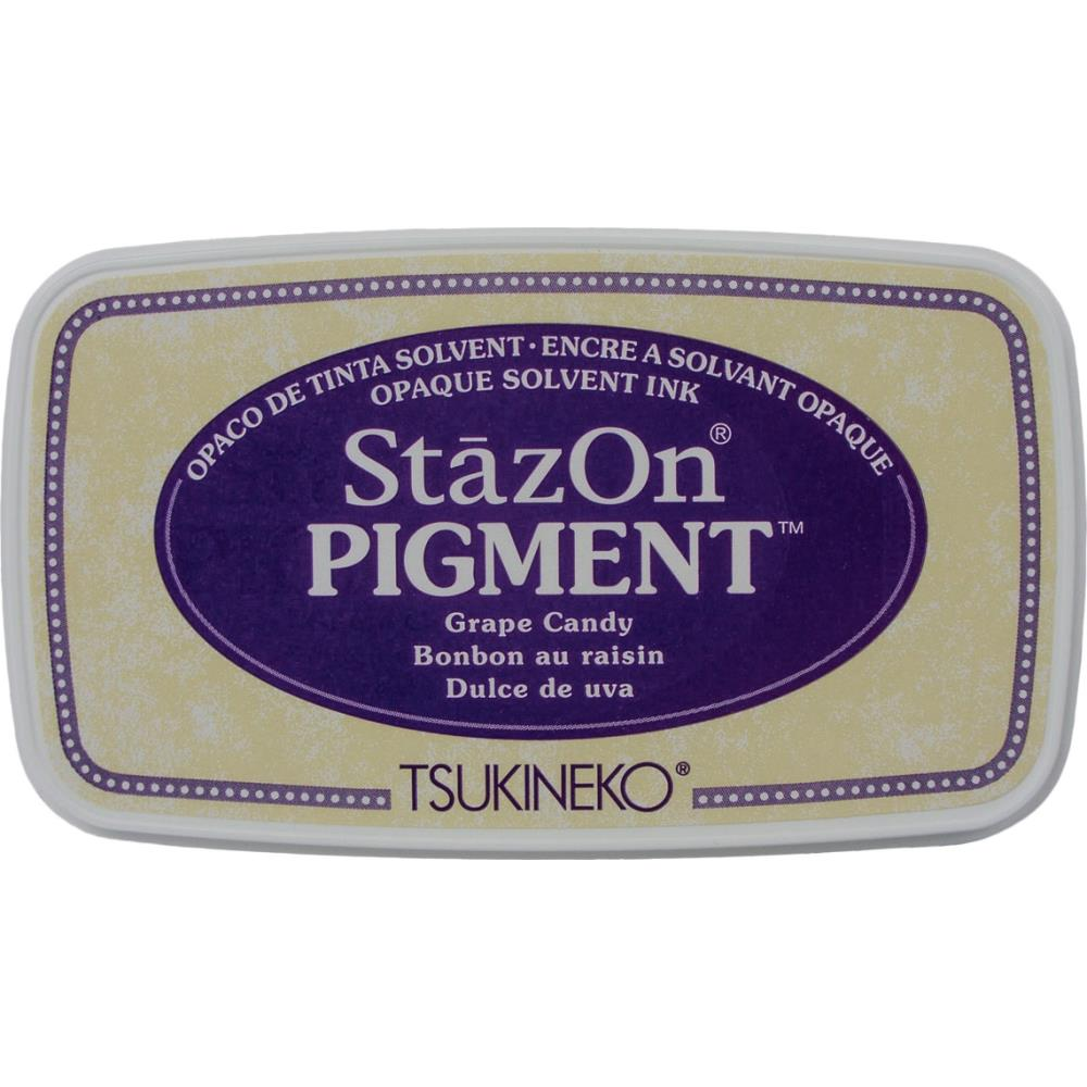 StazOn Pigment Ink Pad - Grape Candy - Lavinia World
