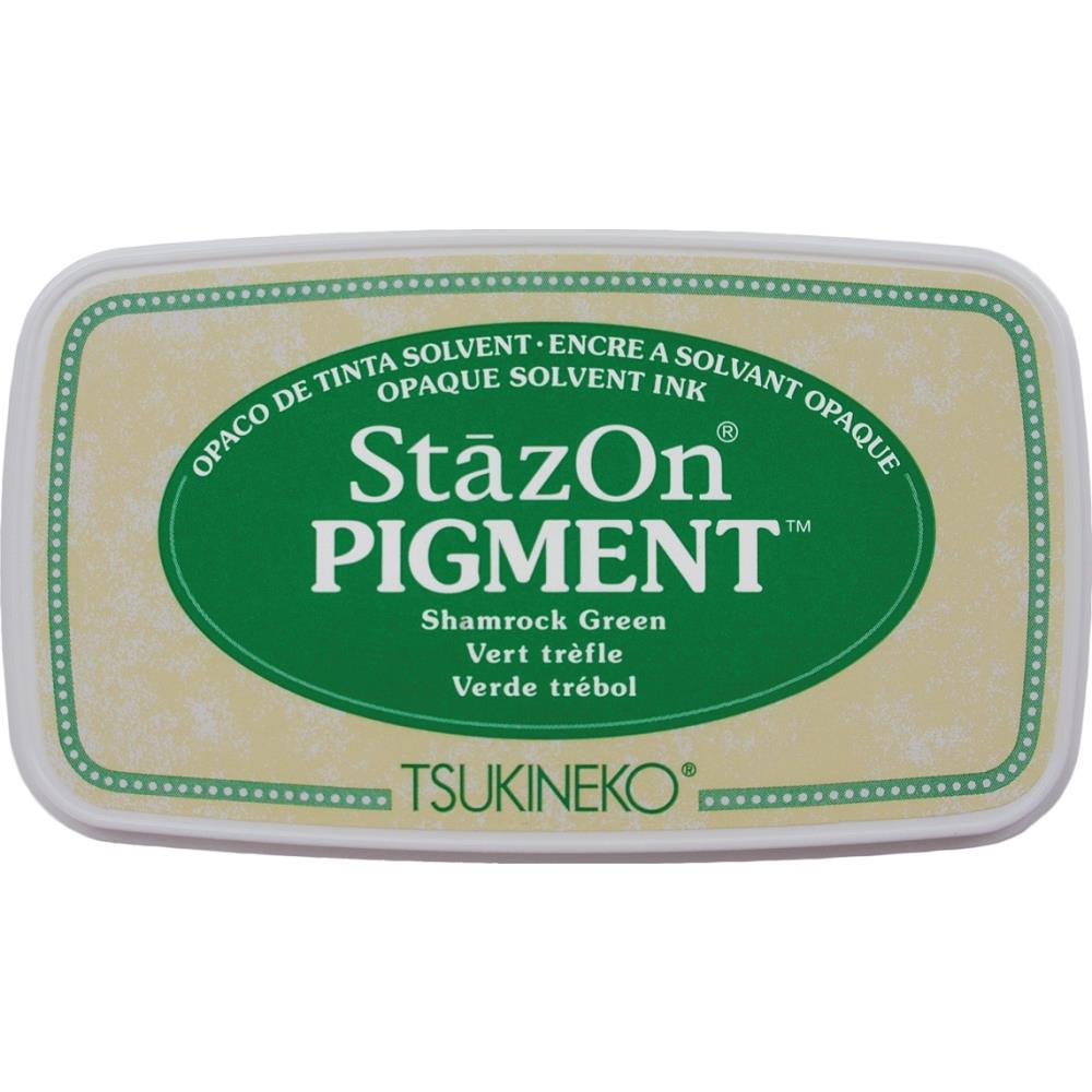 StazOn Pigment Ink Pad - Shamrock Green - Lavinia World
