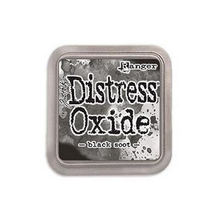 Distress Oxide Ink Pad - Black Soot - Lavinia World