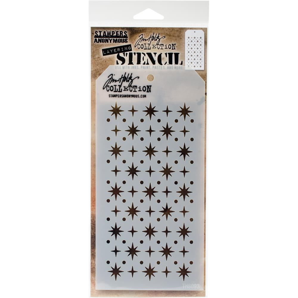 Tim Holtz - Stencil - Starry - Lavinia World