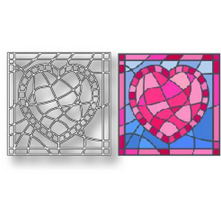 Tutti Designs Dies - Heart Stained Glass - Lavinia World