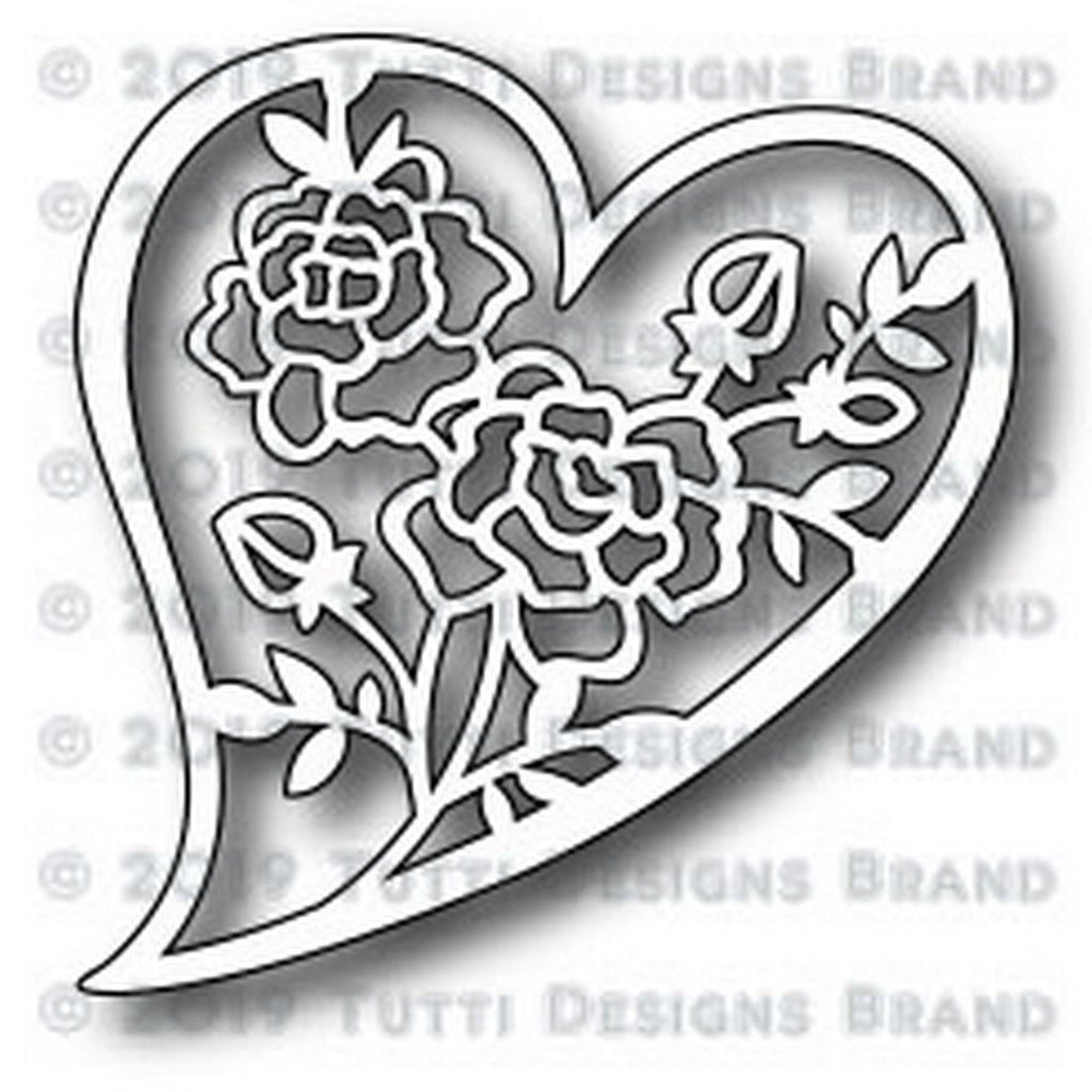 Tutti Designs Dies - Rosy Heart - Lavinia World