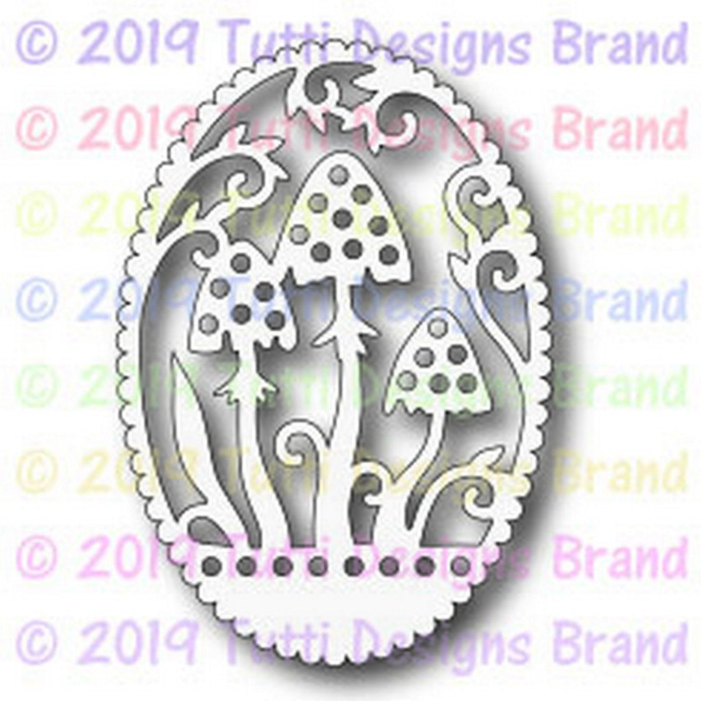 Tutti Designs - Dies - Toadstool Frame - Lavinia World