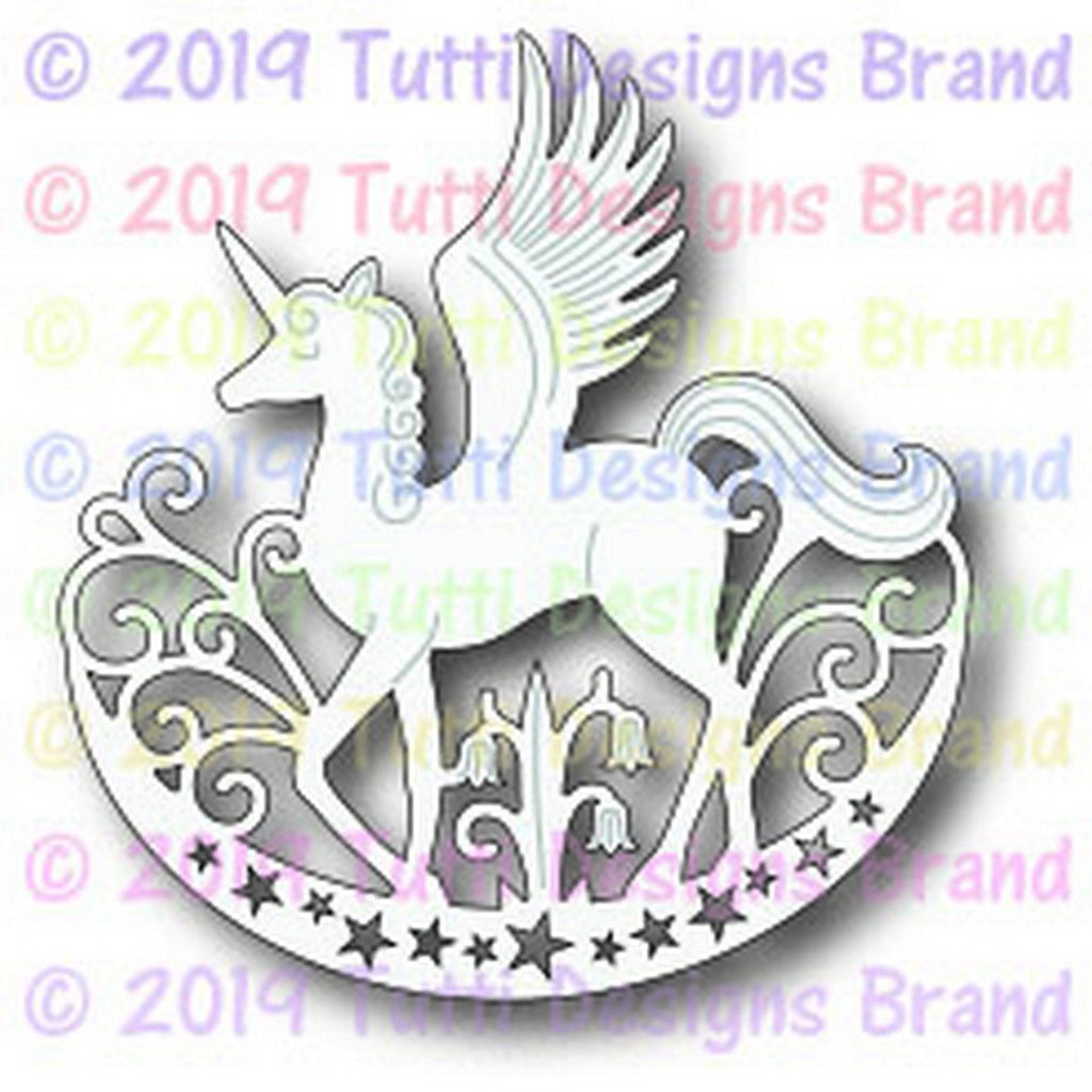 Tutti Designs - Dies - Magical Pegasus - Lavinia World