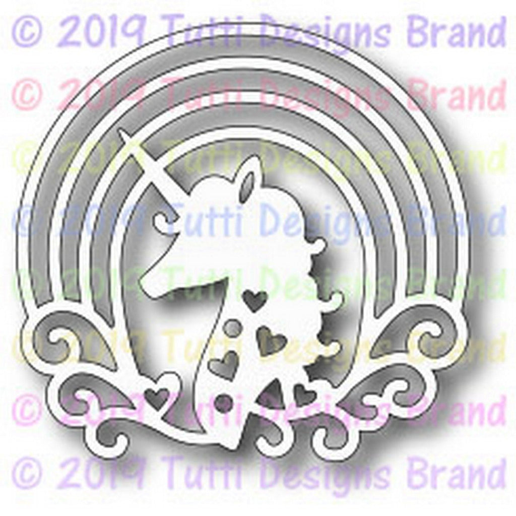 Tutti Designs - Dies - Unicorn Head - Lavinia World