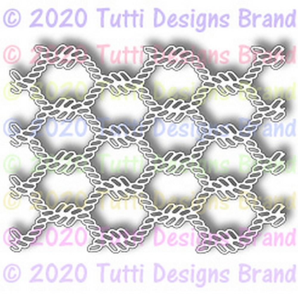 Tutti Designs Dies - Twisted Rope Background - Lavinia World