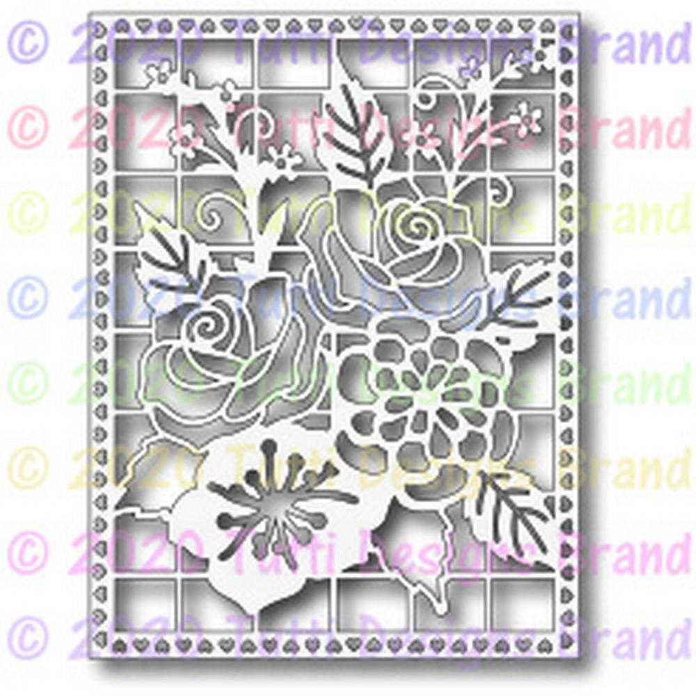 Tutti Designs Dies - Multi Floral Background - Lavinia World