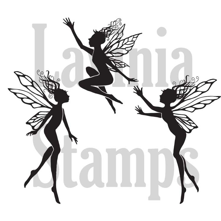 Three Dancing Fairies (LAV136A) - Lavinia World