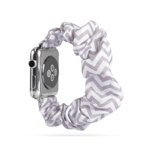 Scrunchie Elastic Strap for Apple Watch Band