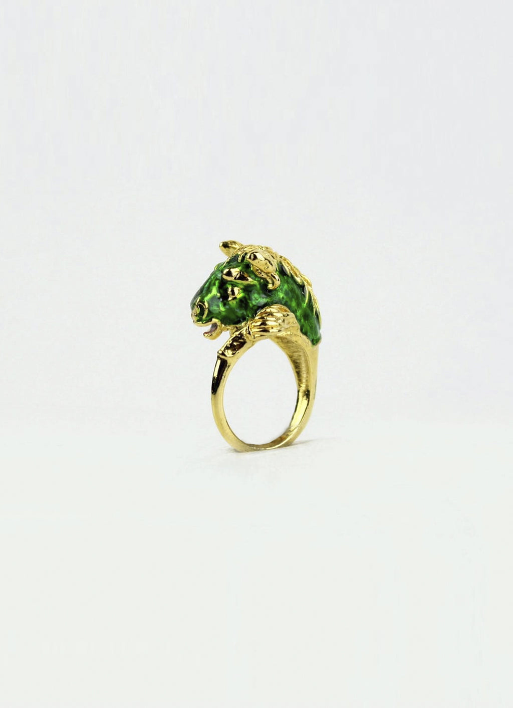 Green Horse ring