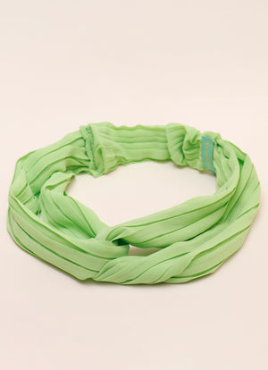 Cucumber Twist Front Headband