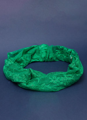 Grasshopper Twist Front Headband