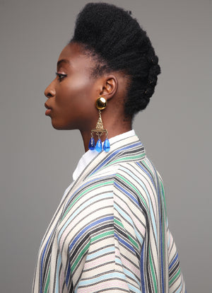 """Try-angle"" Statement Earrings"