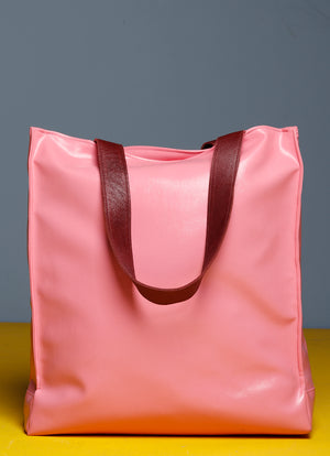 Oversized Pink Shopper Bag