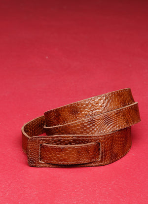 Snakeprint Belt (thin)