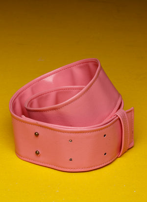 Shiny Pink Belt