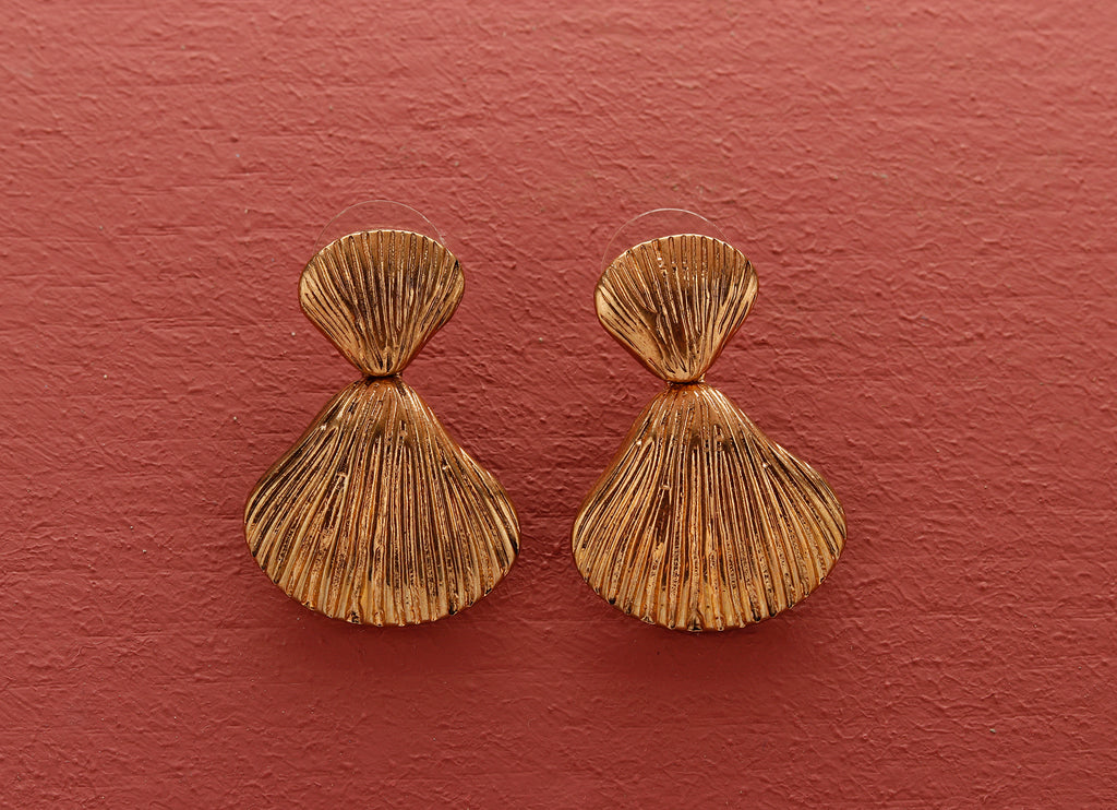 Seashell Statement Earrings