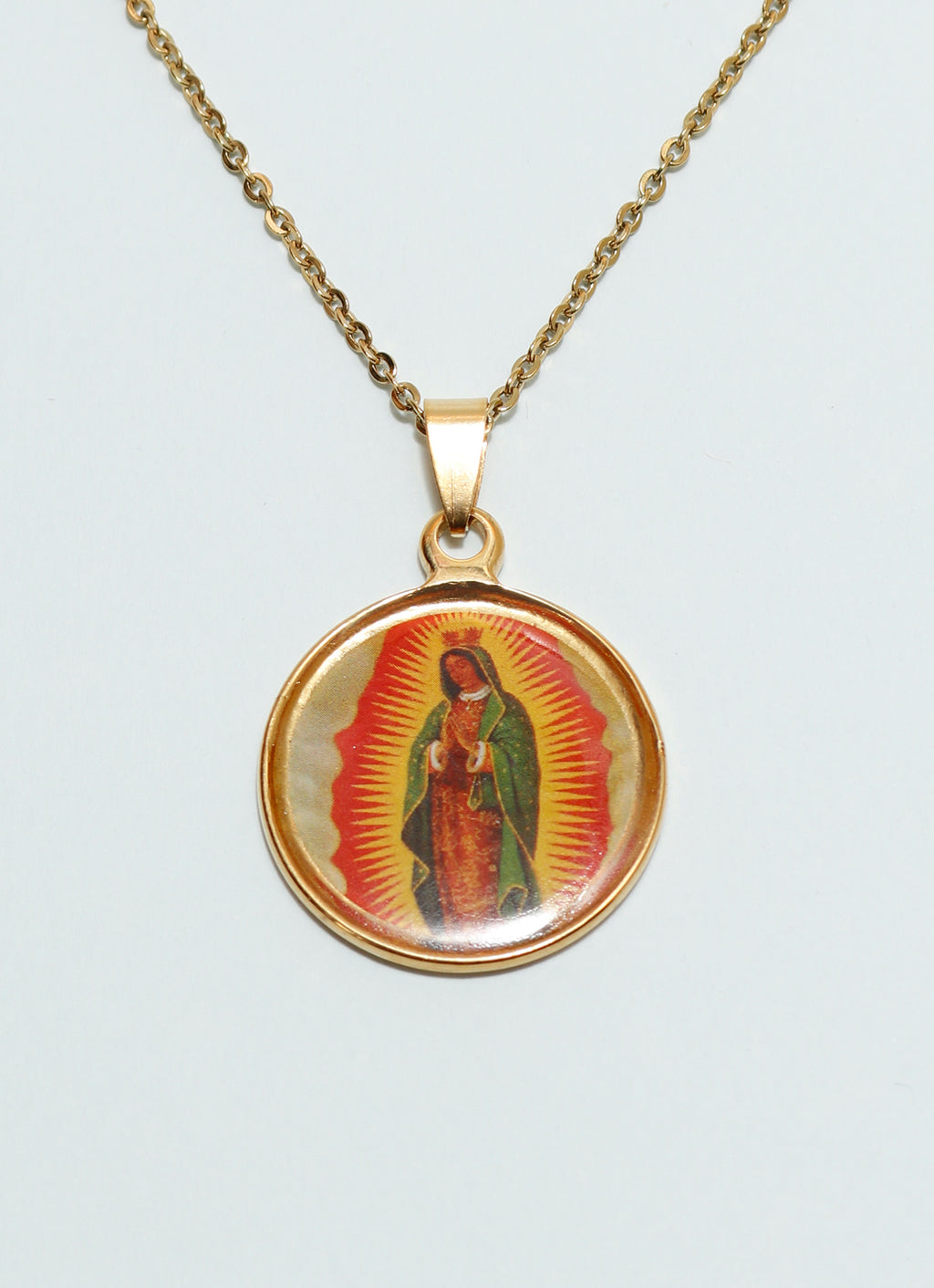 Colorful Madonna Pendant