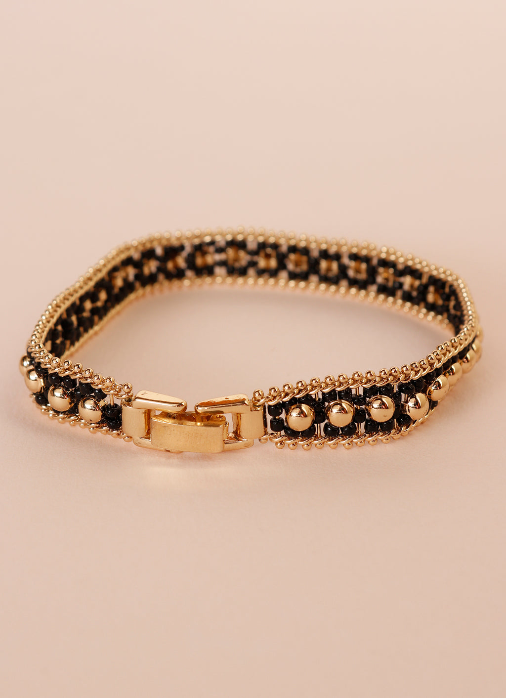 Golden Queue Bracelet