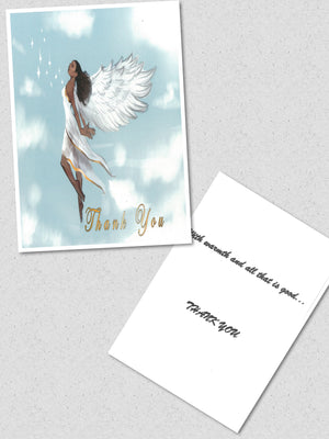 """Thank You  Angel"" Card"