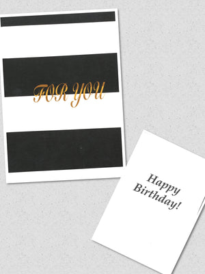 """For You"" Birthday Card"