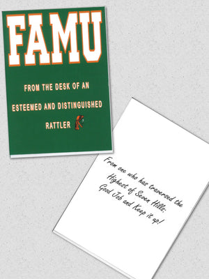 Famu: From the Highest of Seven Hills!