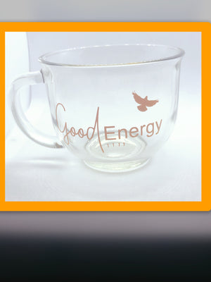 Good Energy 1111 Logo Mug ( Orange Glass)