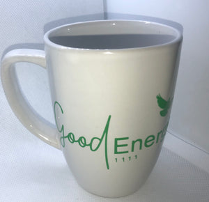 Good Energy Logo 1111 Logo Mug (White ceramic)