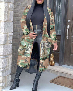 Nothing Like a Sistah| Camo Duster