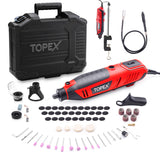 Heavy Duty 200W Rotary Tool Set Grinder Sander Polisher Flex Shaft Multi Acces.