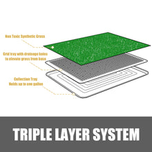 Load image into Gallery viewer, Indoor Dog Potty Toilet Grass Tray Pads Training Puppy Medium Mat
