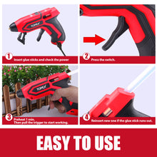 Load image into Gallery viewer, TOPEX Twin Kit 4V Max Cordless Glue Gun Soldering Iron with Adaptor Accessories