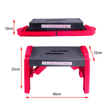 Load image into Gallery viewer, Portable Folding Step Stool Ladder Non slip Caravan Camping Durable Lightweight