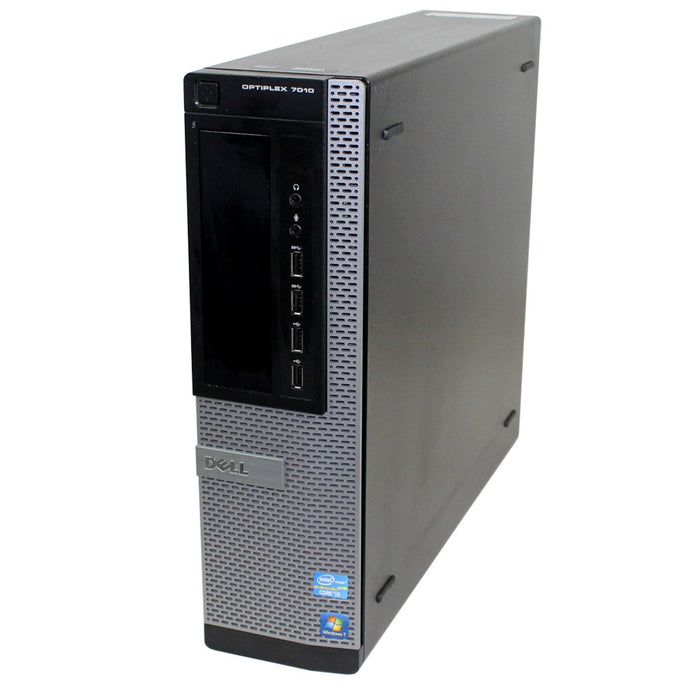 Dell Optiplex 7010 SFF PC i3 4GB Ram 250GB HDD DVD Win 7 Pro 64-Bit