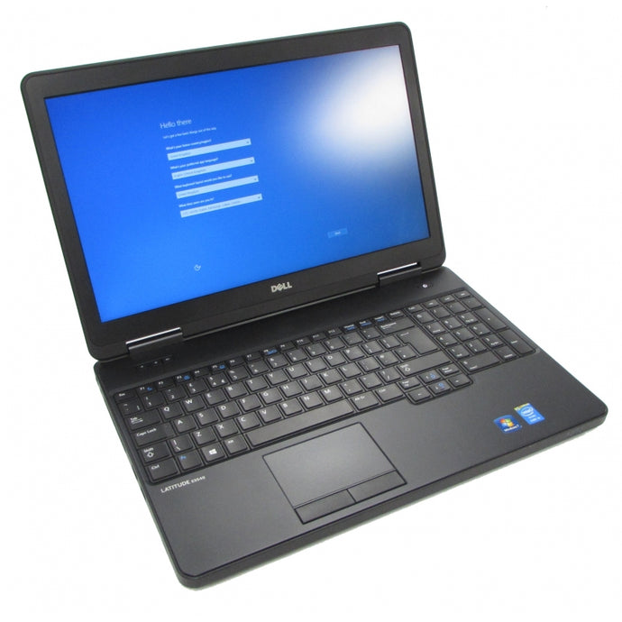 Dell Latitude E5540 Laptop – i7, 8GB, 480GB SSD, Win 10 Pro 64-Bit, 15.6