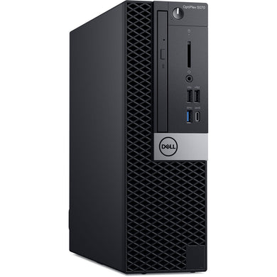 Dell OptiPlex 5070 SFF Core i5-9500 8GB 256GB SSD Windows 10 Pro Desktop PC