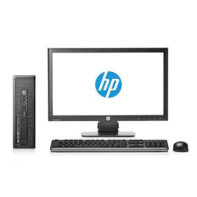 HP EliteDesk 800 G1 SFF and EliteDisplay E231 23 Inch Full HD Monitor Bundle