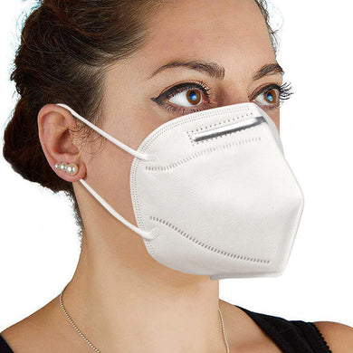 Respiratory masks KN95 / FFP2 Mouth Protection - Pack of 5
