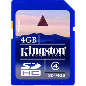 Kingston 4GB Secure Digital Card