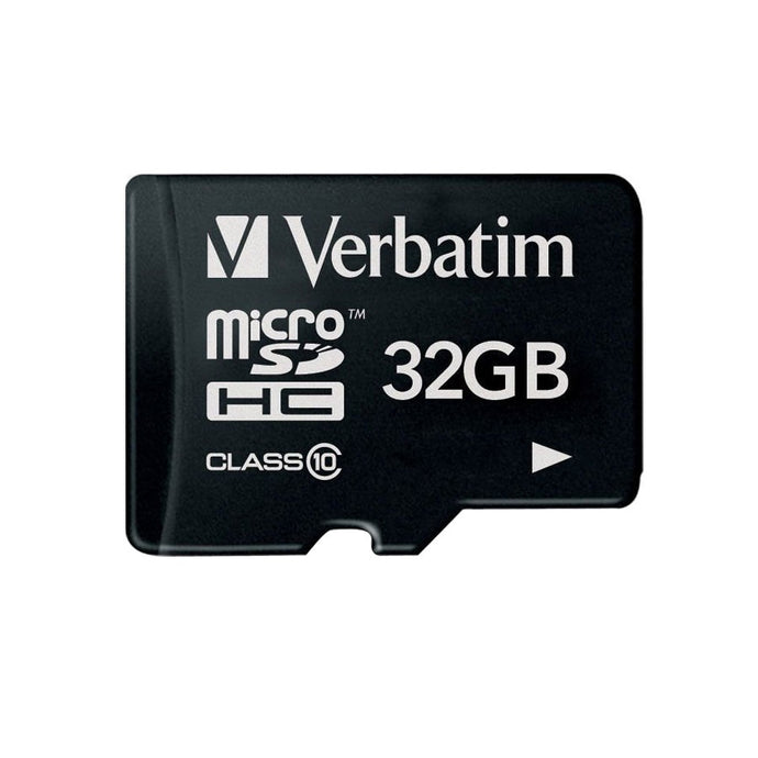 Verbatim Microsd Class 10 32gb and adaptor