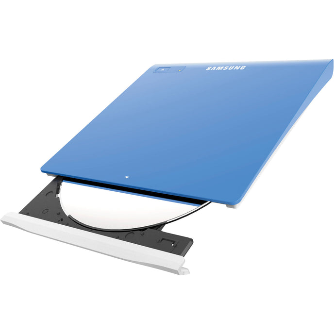 Samsung SE-208DB Slim External 8x DVD Writer - Blue