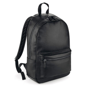 ZAINO - Faux Leather Fashion Backpack