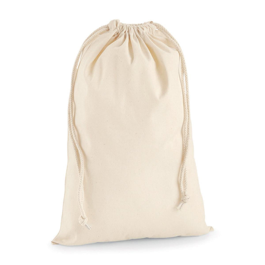 SACCA - Premium Cotton Stuff Bag L