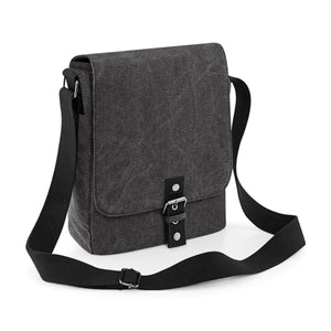 BORSA Vintage Canvas iPad/Tablet Reporter