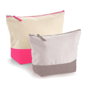 Dipped Base Canvas Accessory Bag L
