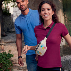 Polo da donna a maniche corte set-in FRUIT OF THE LOOM